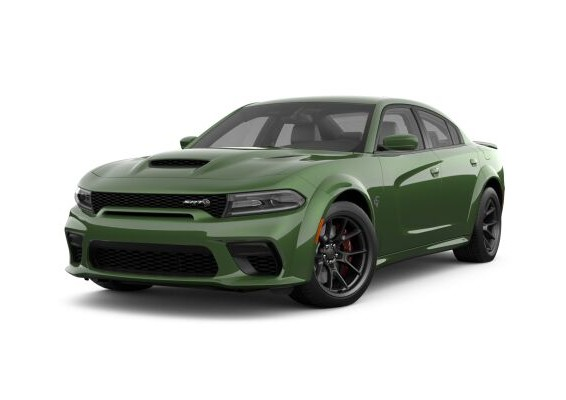 2021 Dodge Charger in F8 Green
