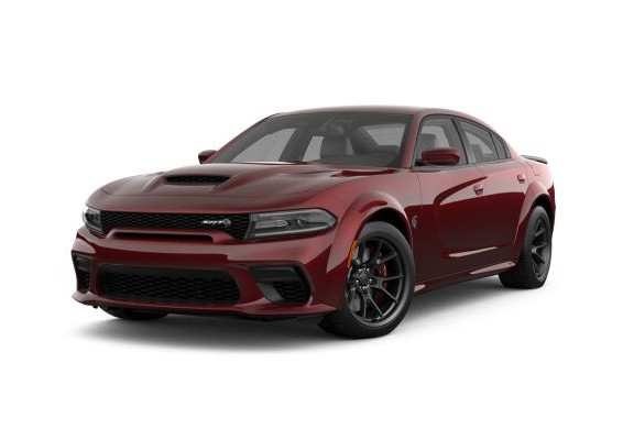 2021 Dodge Charger in Octane Red
