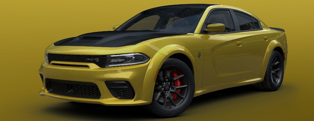 Dodge Expands Charger Color Options to Include Gold Rush Paint Color