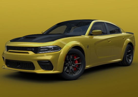 2021 Dodge Charger in Gold Rush