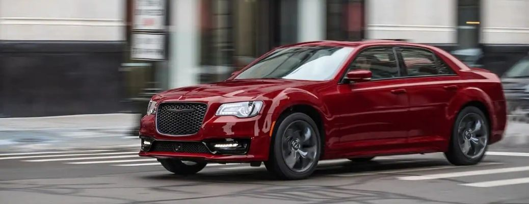 2021 Chrysler 300 front and side view