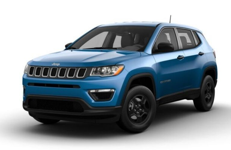 2021 Jeep Compass Laser Blue Pearl