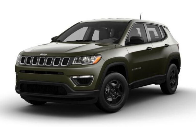 2021 Jeep Compass Olive Green Pearl