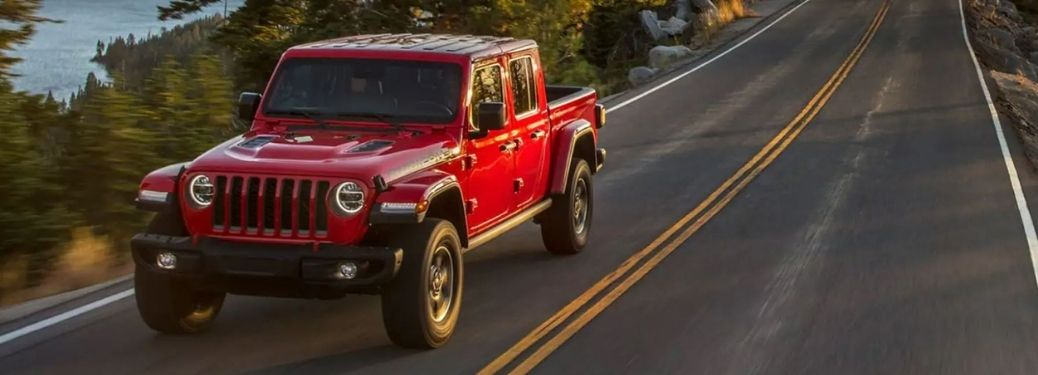 What are the safety features of the 2021 Jeep Gladiator?