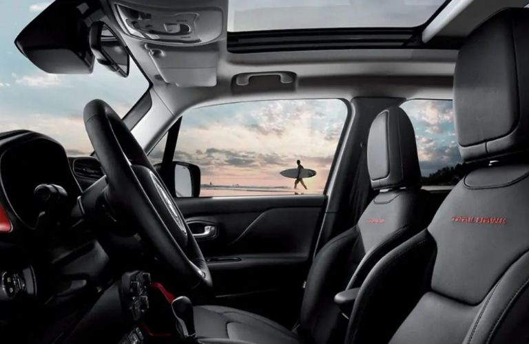 2021 Jeep Renegade Interior Cabin and Seats View