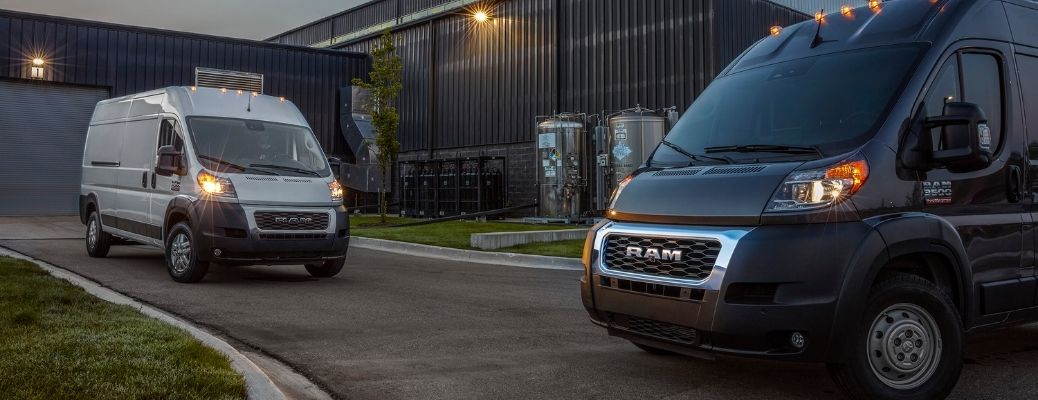 Image showing the 2022 RAM ProMaster 2500 and 2022 RAM ProMaster 3500