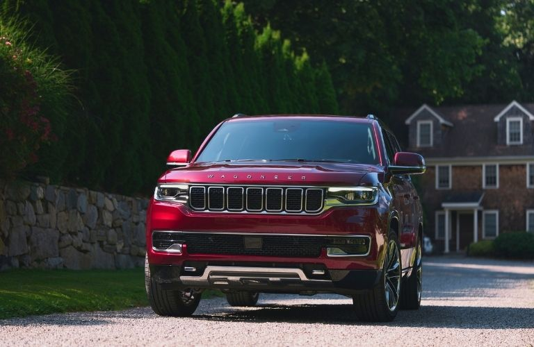 The 2022 Jeep Wagoneer on the way to its destination