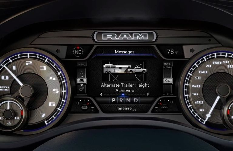 Technology of the 2021 RAM 2500