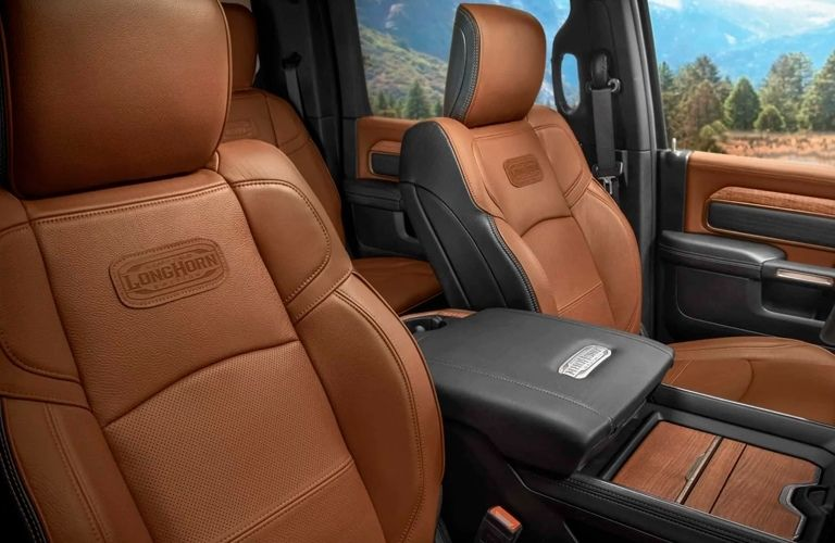 Seating capacity of the 2021 RAM 2500