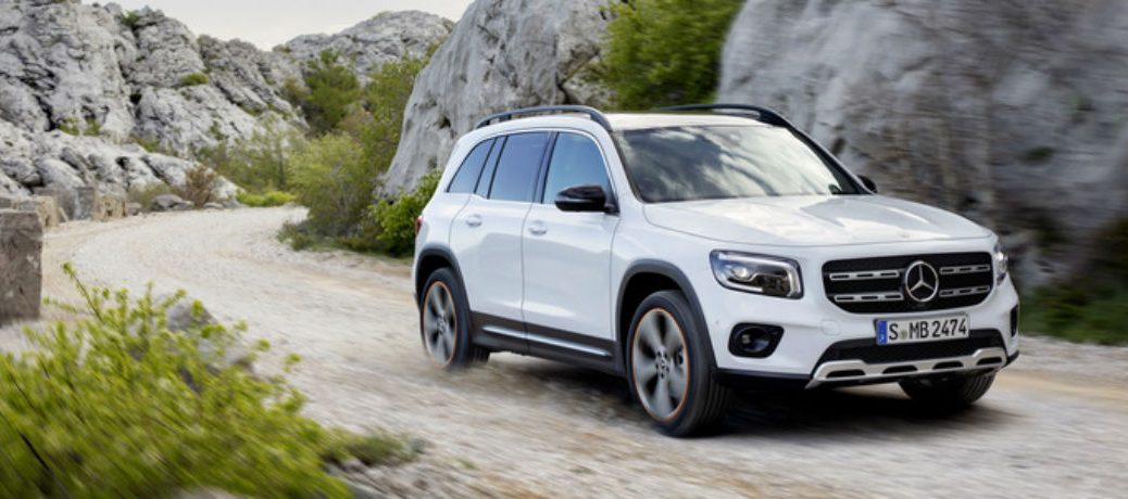 2020 Mercedes-Benz GLB from front