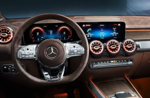 2020 Mercedes-Benz GLB front interior