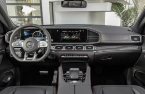 2021 Mercedes-Benz AMG GLE 53 Coupe front interior