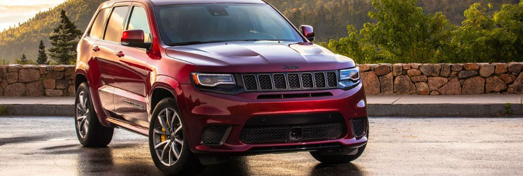 2019 Jeep Grand Cherokee exterior profile
