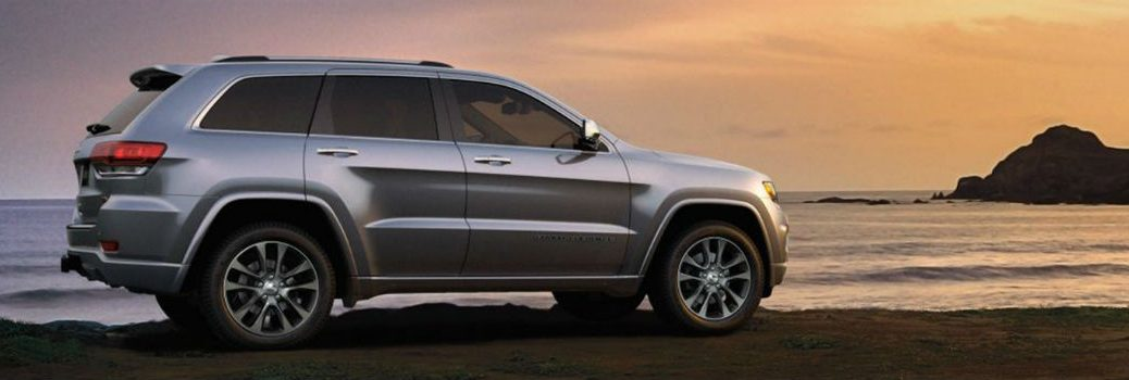 2019 Jeep Grand Cherokee next to a body of water