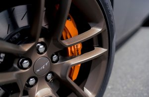 2020 Dodge Challenger close-up look at a wheel