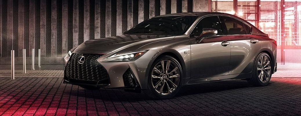 2021 Lexus IS Front Side View