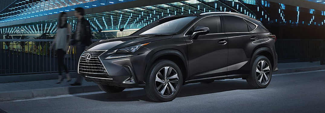 What Color Options are on the 2020 Lexus NX?