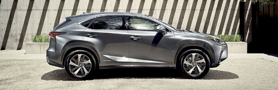 What Hybrid options does Lexus of Tuscon Automall offer?
