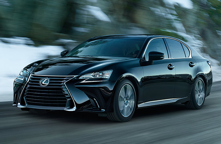 2020 Lexus GS going down the road