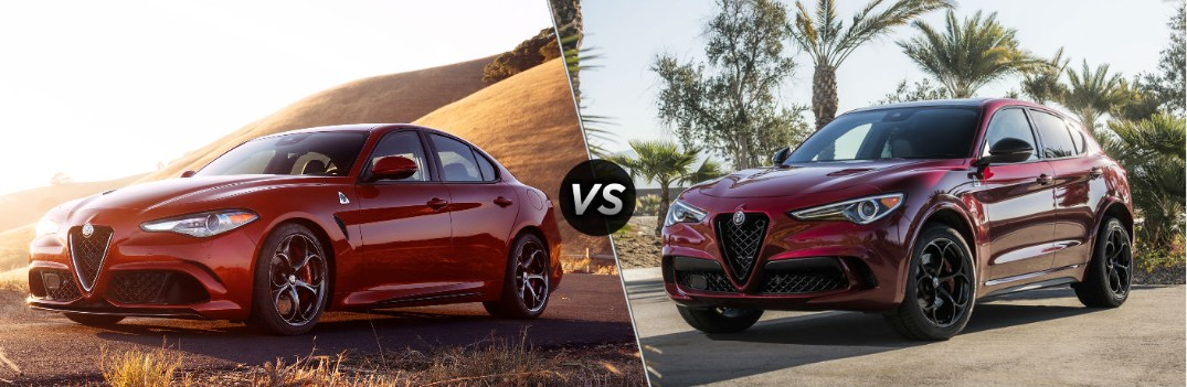 What are the Differences Between the Giulia and Stelvio Quadrifoglio Models?