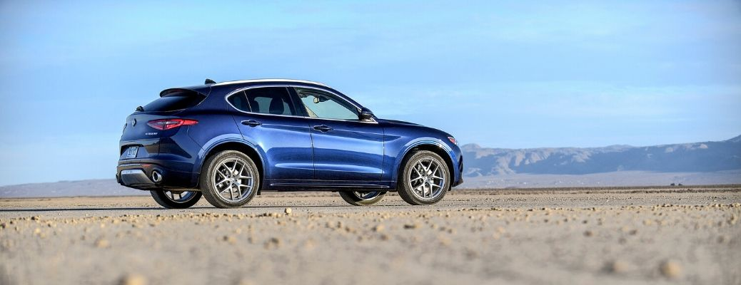 What are trim level options for the 2020 Stelvio?