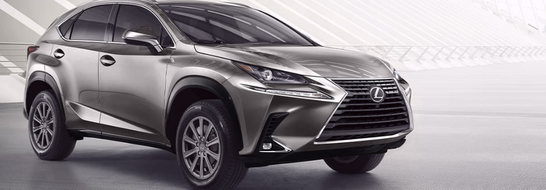 color options of the 2020 lexus nx
