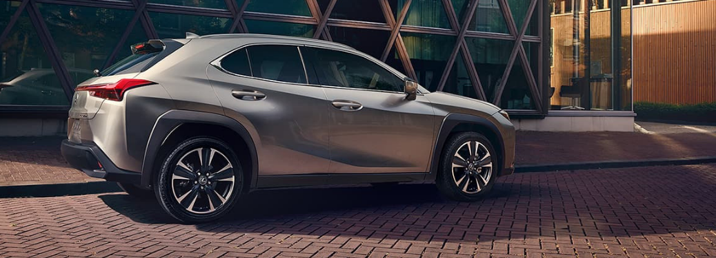 2019 Lexus UX parked on the road