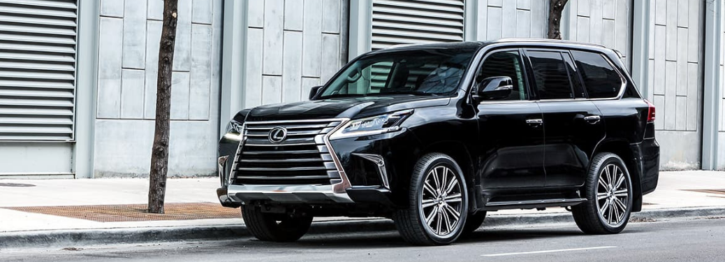 2019 Lexus LX Parked outside