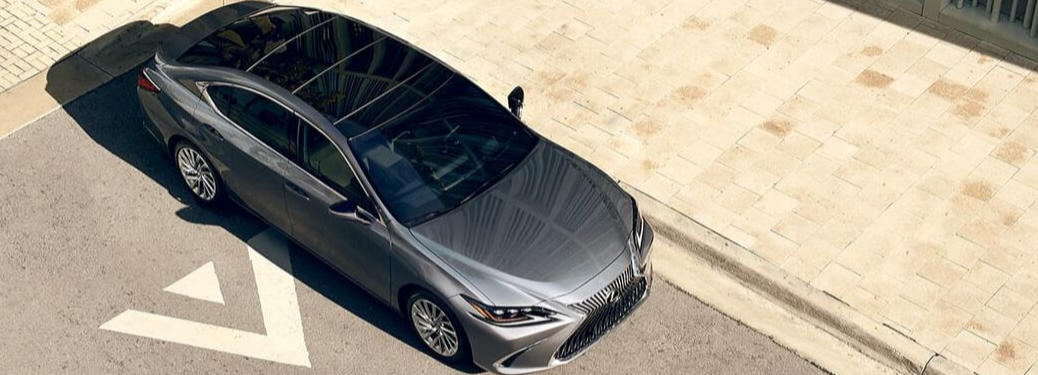 2019 Lexus ES parked outside