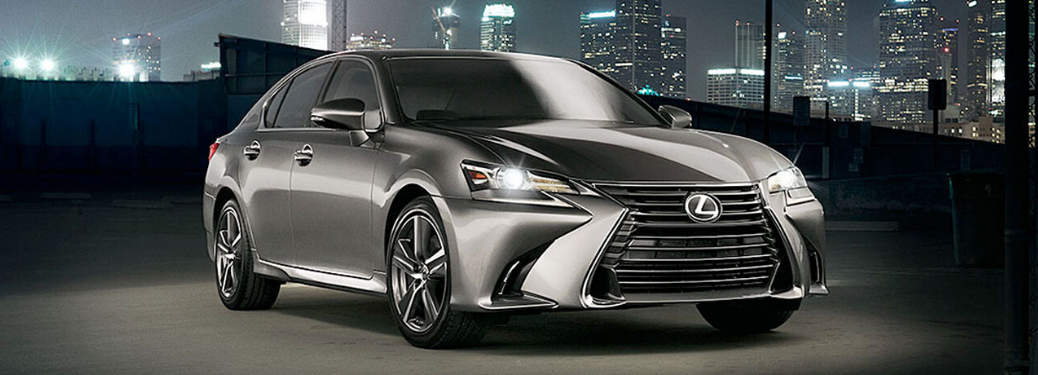 2020 Lexus GS parked in the dark outside
