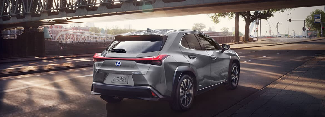 2020 Lexus UX parked outside on road
