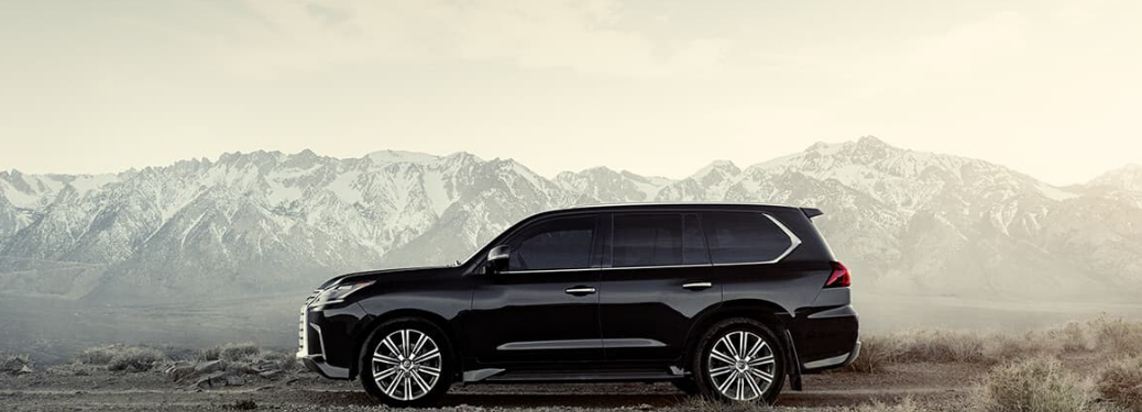 2020 Lexus LX parked outside