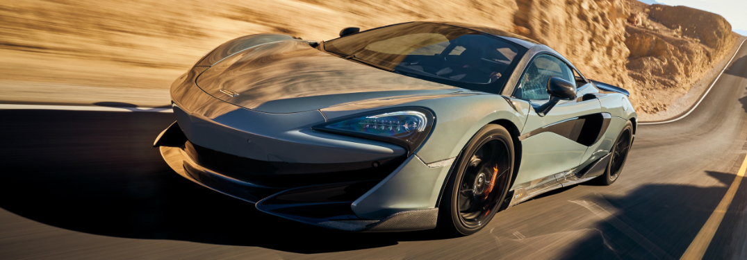 Where is the North American headquarters for McLaren located?