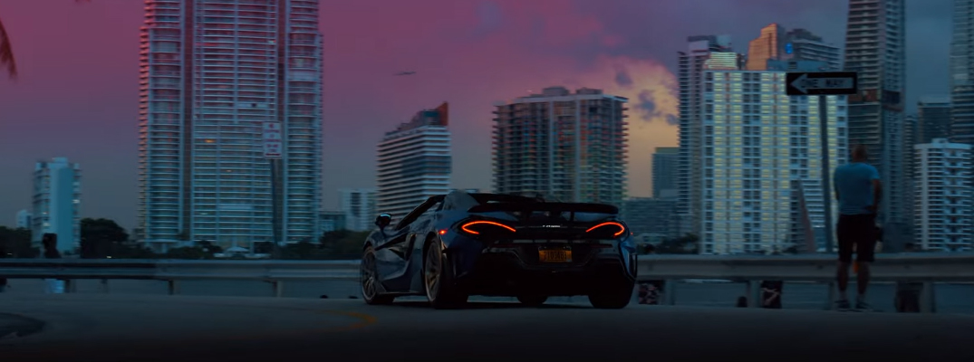 """View the McLaren 600LT in Amazing """"Running with the Storm"""" Video"""