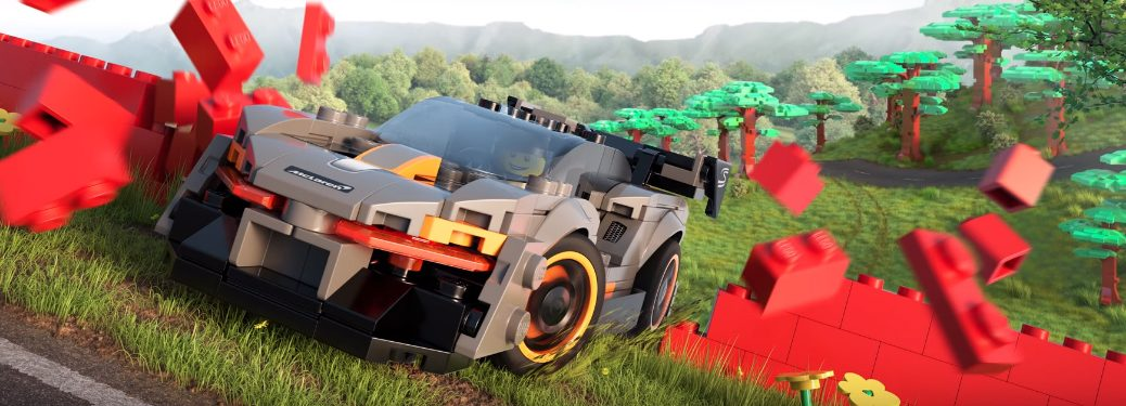 LEGO McLaren Senna in Forza Horizon 4 LEGO Speed Champions Video Game