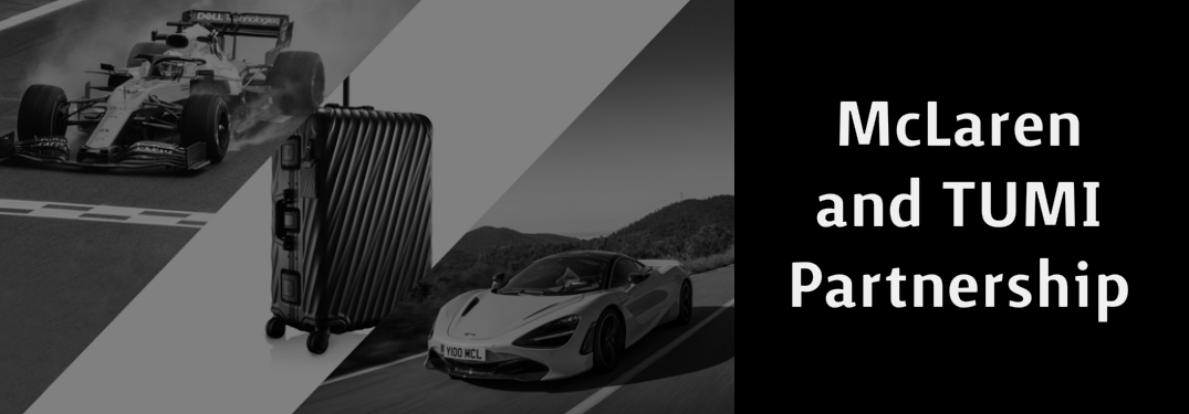 TUMI is Now the Official Luggage Partner for McLaren Automotive and McLaren Racing