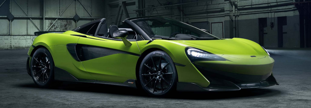 Does the 2020 McLaren 600LT offer a convertible model?