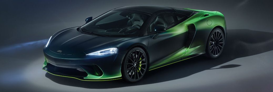 McLaren Verdant Theme GT by MSO Exterior Driver Side Front Profile