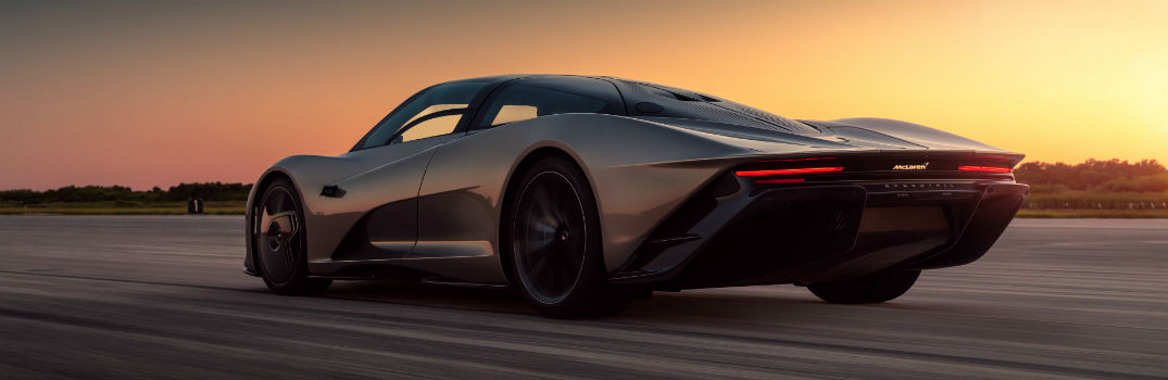 What does it feel like to drive the McLaren Speedtail?