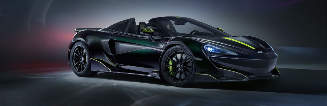 How does the final McLaren 600LT Spider look?