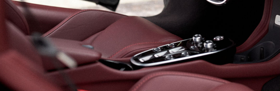 What kind of materials are used in the McLaren GT interior?