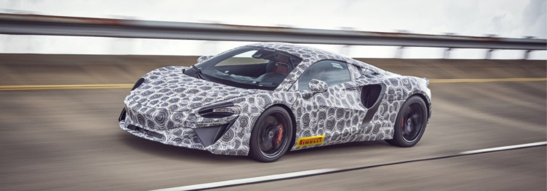 Check Out this Video for the Name Reveal of the New McLaren Hybrid Supercar
