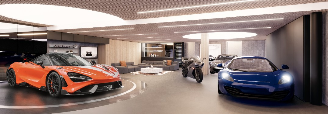 Pendry Residences West Hollywood and McLaren North America Collaborate on Super Garage
