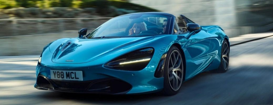 How is the 2021 McLaren 720S Spider in terms of performance and design?