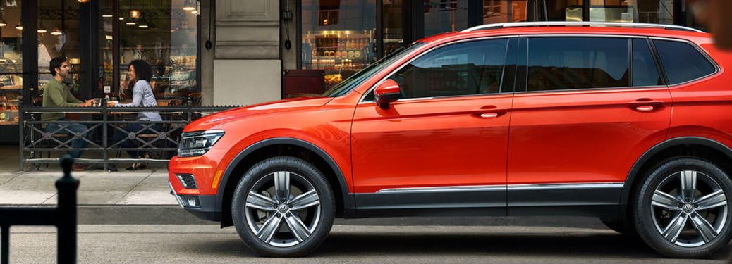 2019 Volkswagen Tiguan side profile