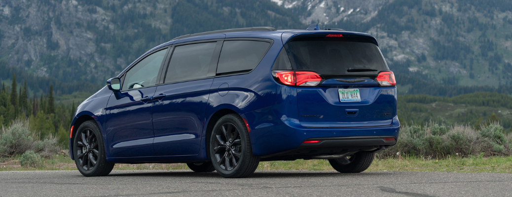 Blue 2020 Chrysler Pacifica exterior