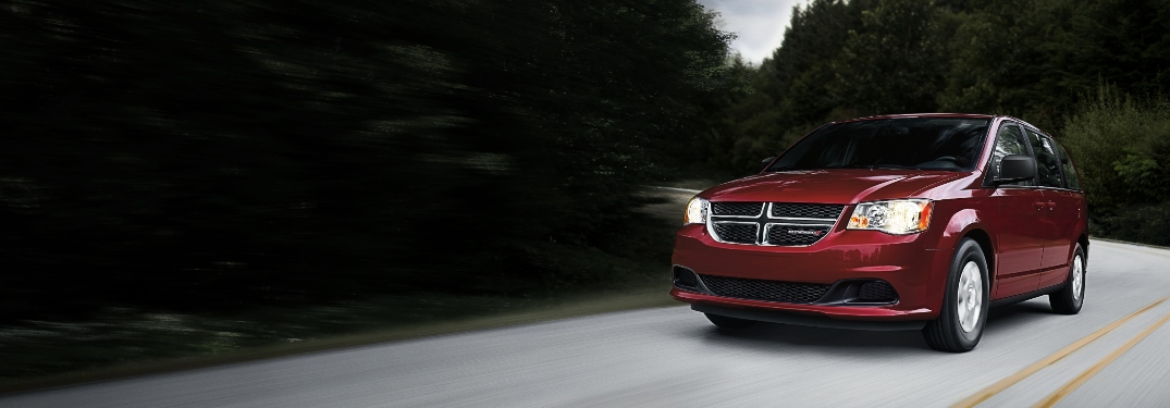What is new on the 2020 Dodge Grand Caravan?