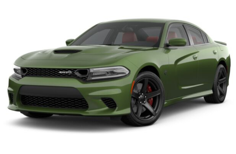2019 Dodge Charger F8 Green