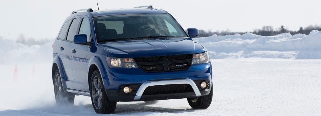 2020 Dodge Journey in Snow