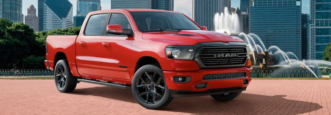 Powerful and safe: the 2020 RAM 1500